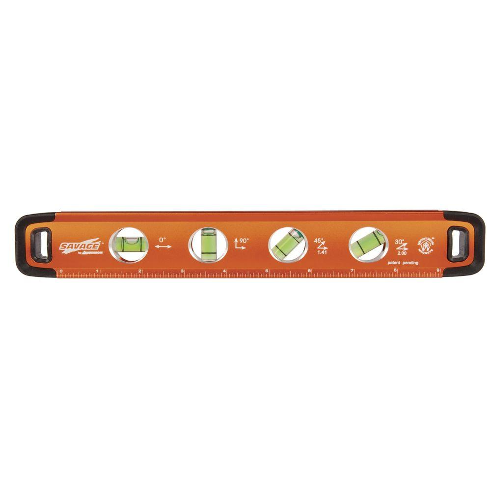 Swanson Tool Savage 11 in. Magnetic Torpedo Level