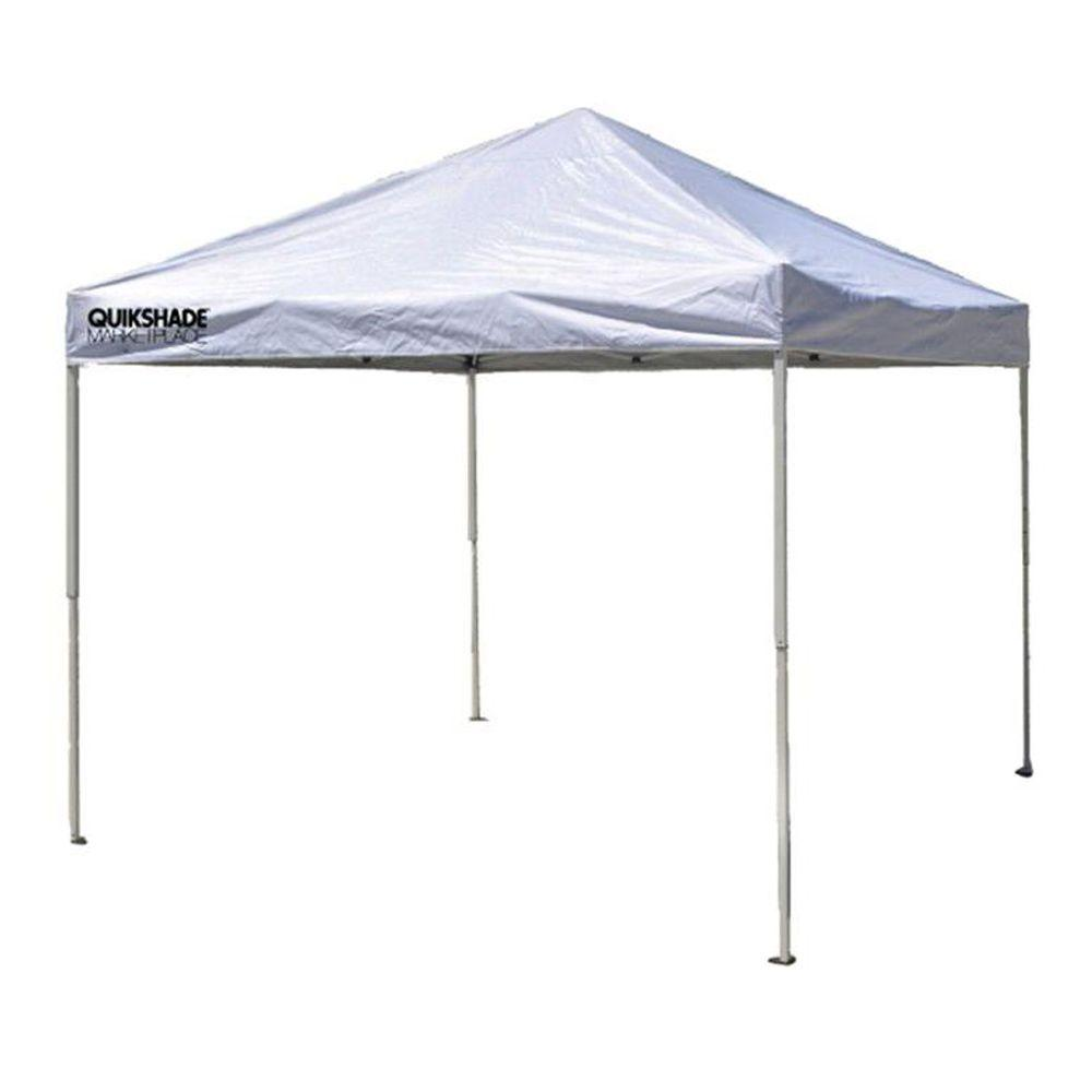 Quik Shade Marketplace 10 ft. x 10 ft. White Instant Canopy  sc 1 st  Home Depot & Quik Shade Marketplace 10 ft. x 10 ft. White Instant Canopy-158685 ...
