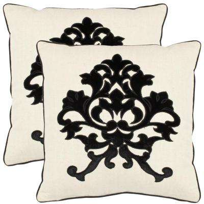 Mason Embellished Applique Pillow (2-Pack)