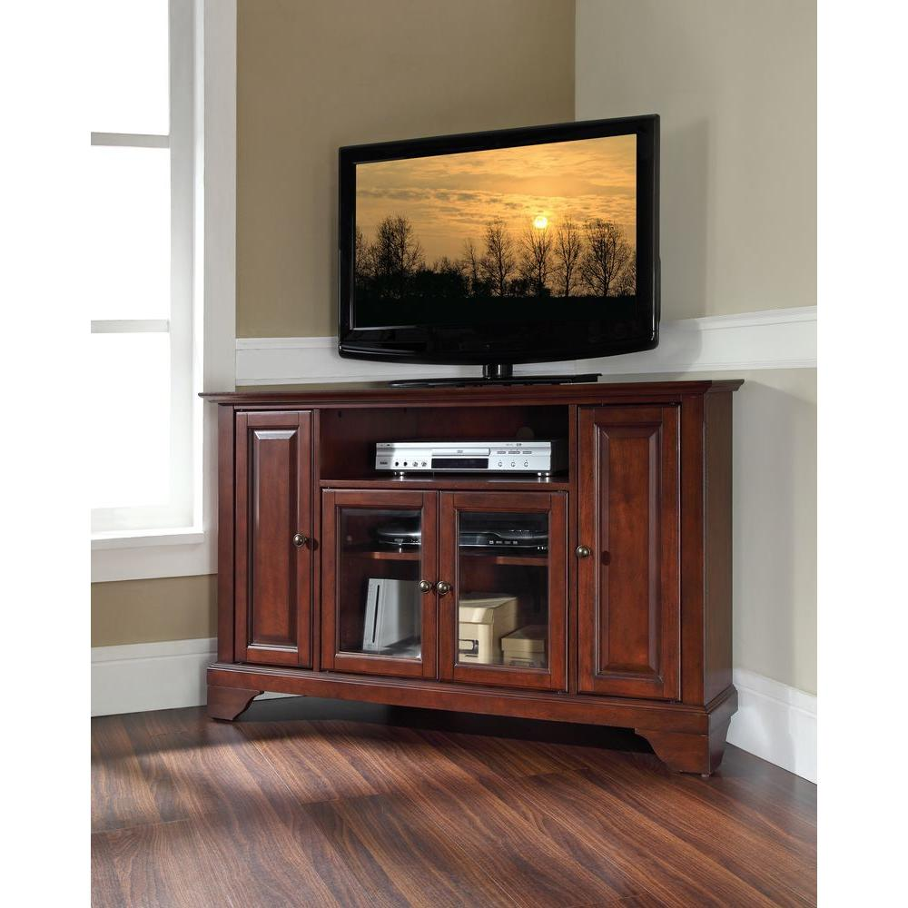 Crosley LaFayette Mahogany Entertainment Center