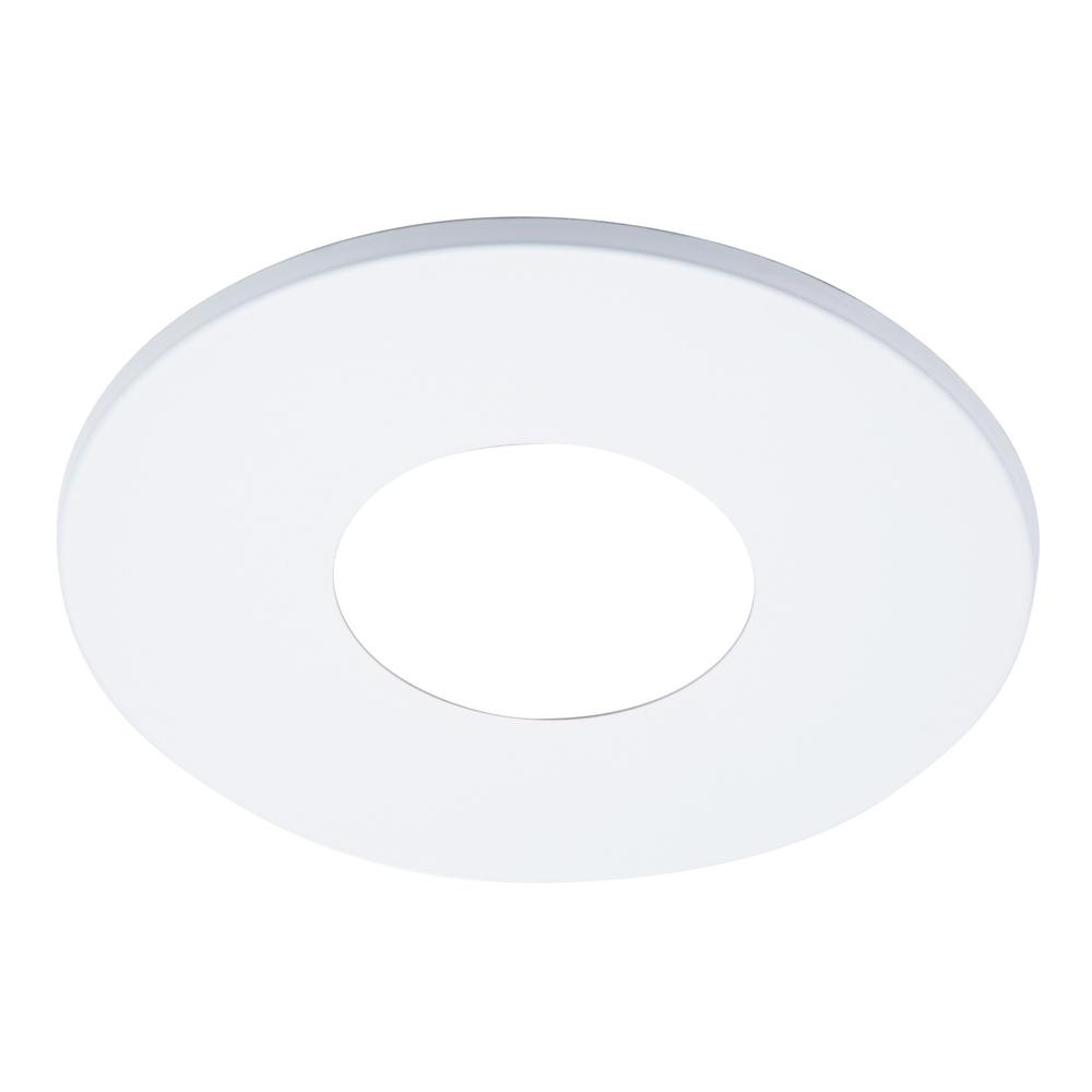 Round Recessed Ceiling Light: Halo ML 4 In. White Round Recessed Ceiling Light Fixture