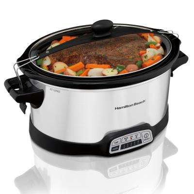 Stay or Go Programmable 7 Qt. Slow Cooker