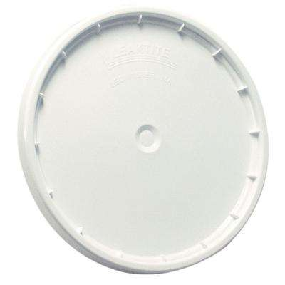White Reusable Easy Off Lid for 5-Gal. Pail (60-Pack)