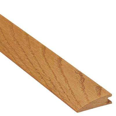 Autumn Wheat Hickory 3/8 in. Thick x 1-1/2 in. Wide x 78 in. Length Reducer Molding