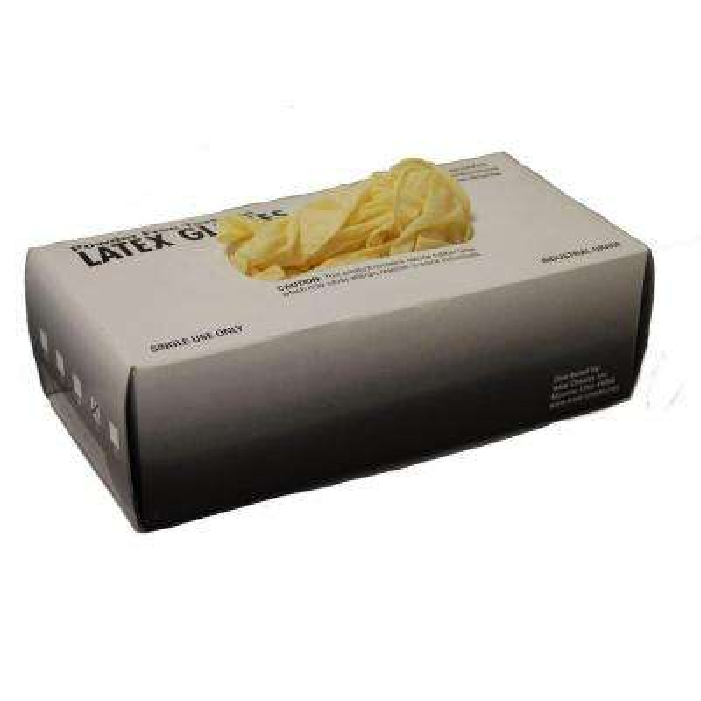Box Industrial Grade Powder Free Latex Gloves 100-Count-Medium