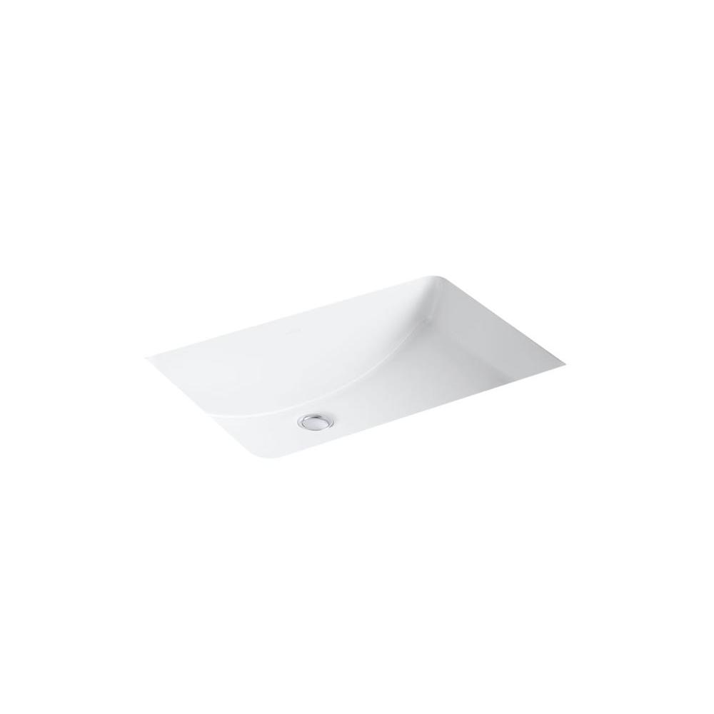 undermount rectangular bathroom sink. Ladena 23 1/4\ Undermount Rectangular Bathroom Sink