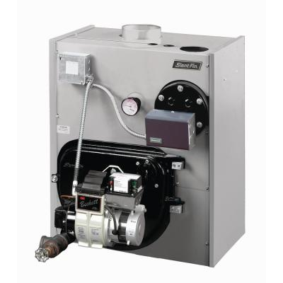 Liberty Heating Oil Hot Water Boiler with 131,000 to 175,000 BTU Input 117,000 to 131,000 BTU Output and Tankless Coil