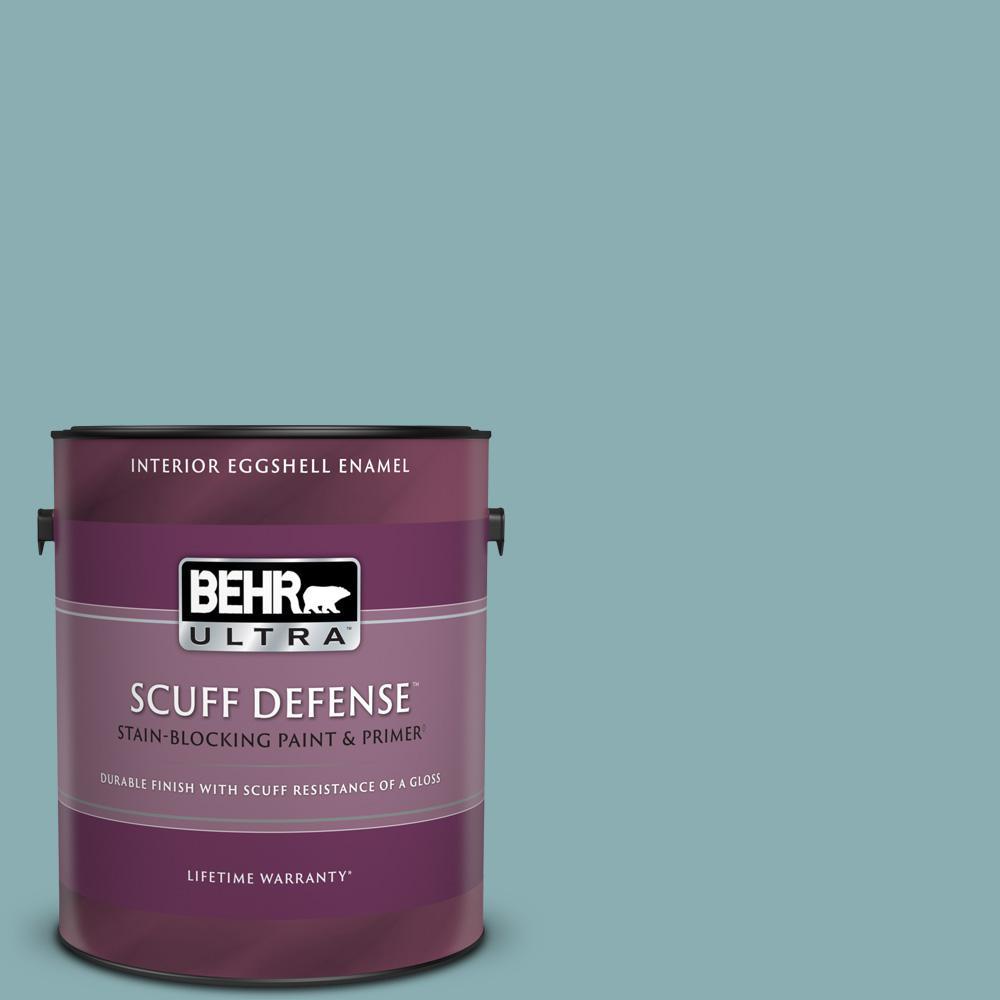 Behr Ultra 1 Gal 510f 4 Bon Voyage Extra Durable Eggshell Enamel Interior Paint Primer 275401 The Home Depot