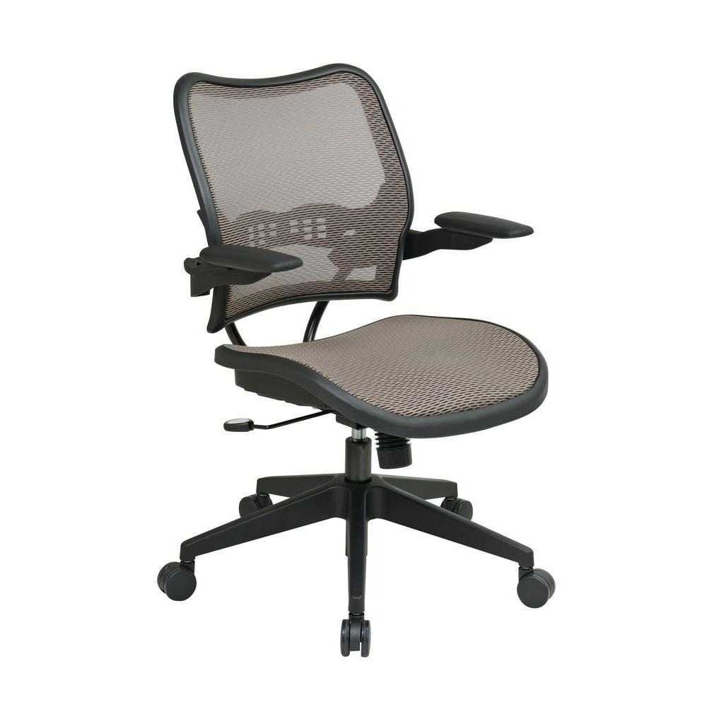 E Seating Deluxe Latte Airgrid Office Chair