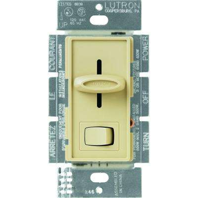 Skylark 1.5 Amp Single-Pole 3-Speed Slide-to-Off Fan and Light Control - Ivory