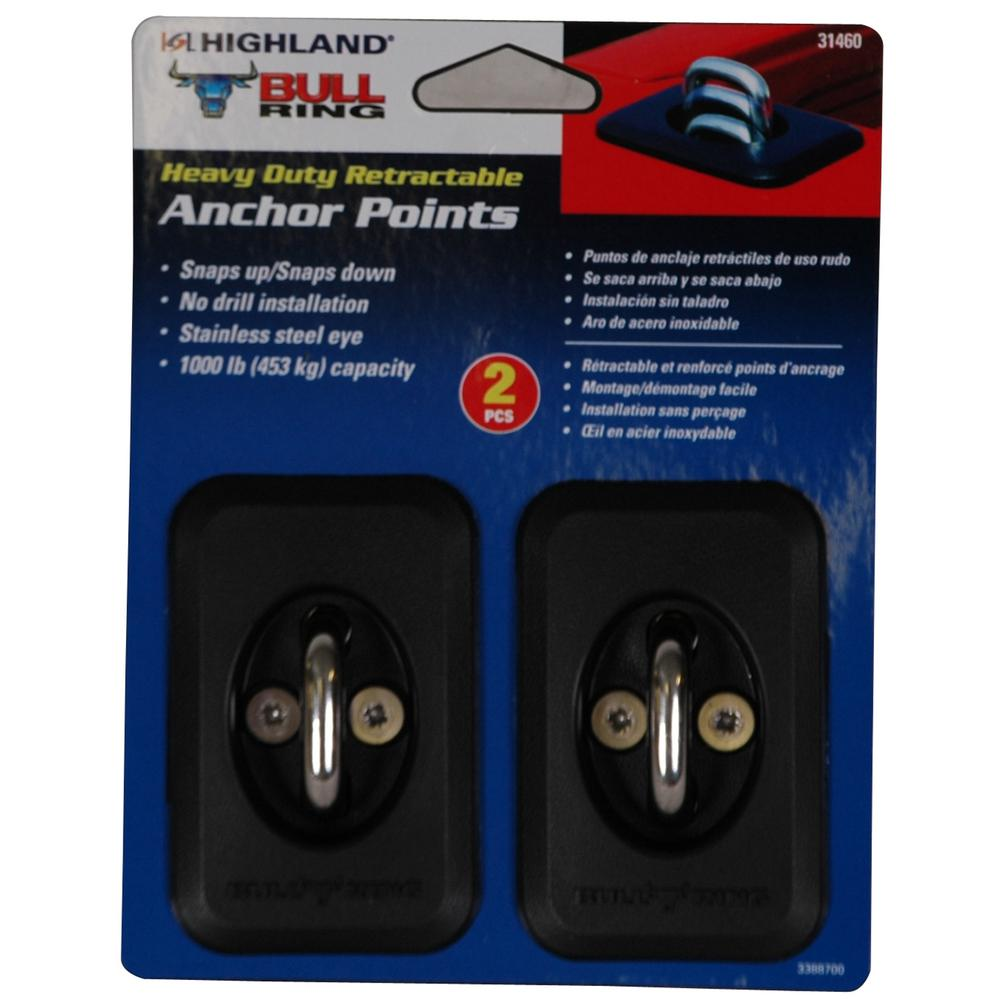 Reese Secure 9423500 Anchor 2 Pack