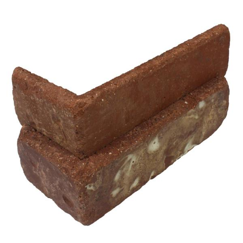 Boston Mill Thin Brick Singles - Corners (Box of 25) - 7.625 in x 2.25 in (5.5 linear ft)