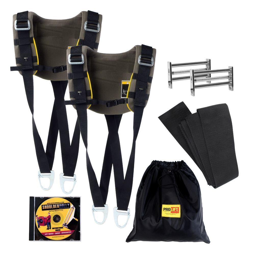 Nielsen Products Pro Lift Shoulder Dolly Professional Moving Strap System