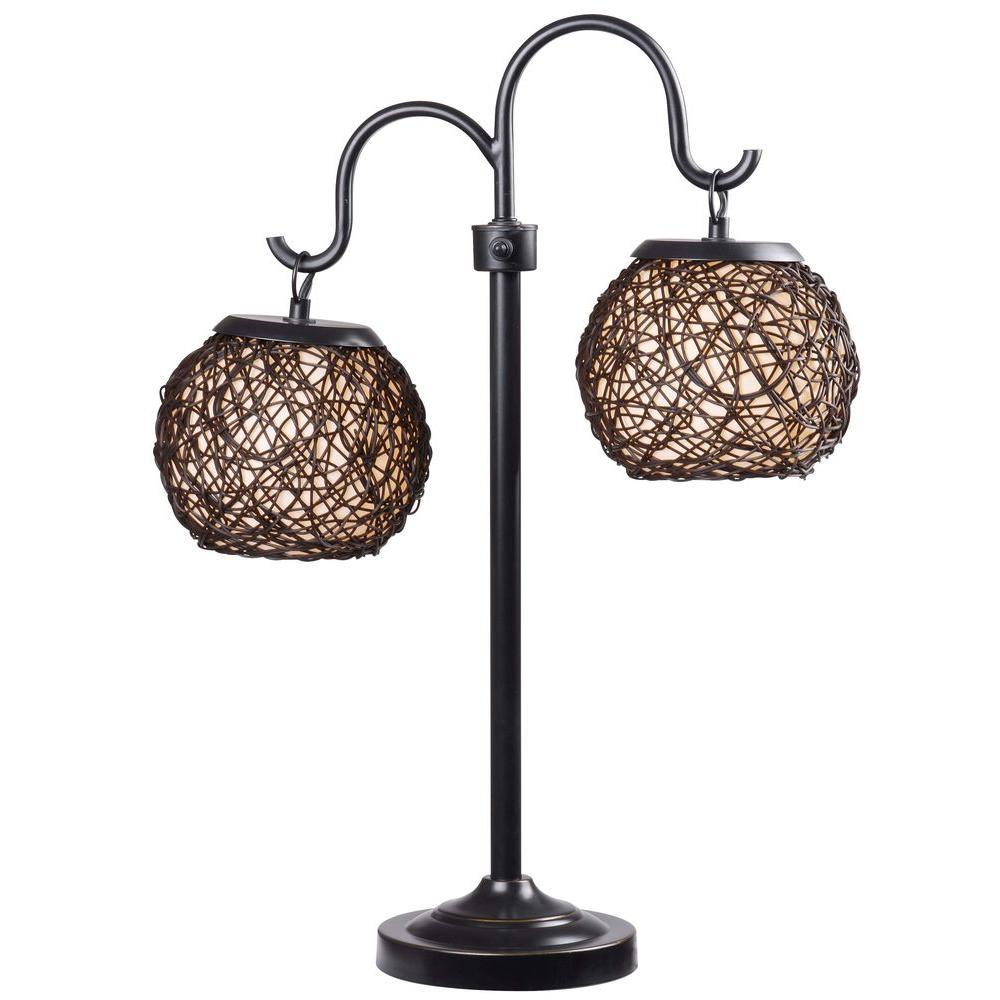Castillo 29 in. Bronze Outdoor Table Lamp