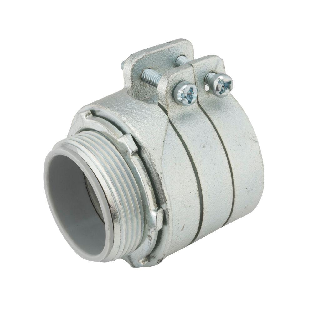 RACO Flex 2-1/2 in. Insulated Squeeze Connector