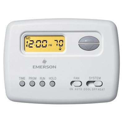 noma programmable 7 day thermostat manual