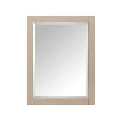 24 in. W x 30 in. H x 5 in. D Framed Surface-Mount 2-Shelf Bathroom Medicine Cabinet in Taupe Glaze
