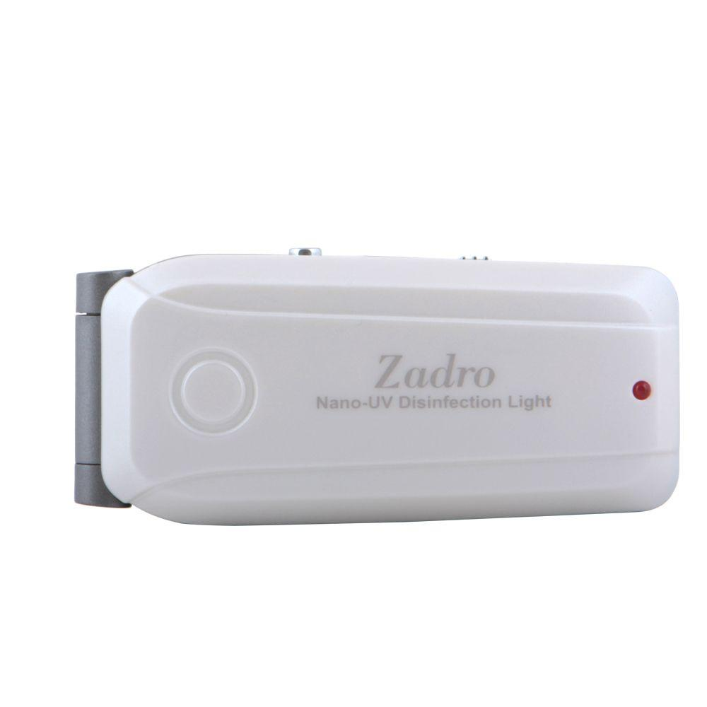 Zadro Nano UV Disinfectant Scanner in Pearl