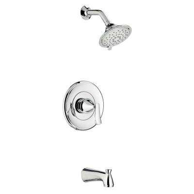 Chatfield Single-Handle 3-Spray Tub and Shower Faucet with 1.8 GPM in Chrome (Valve Included)