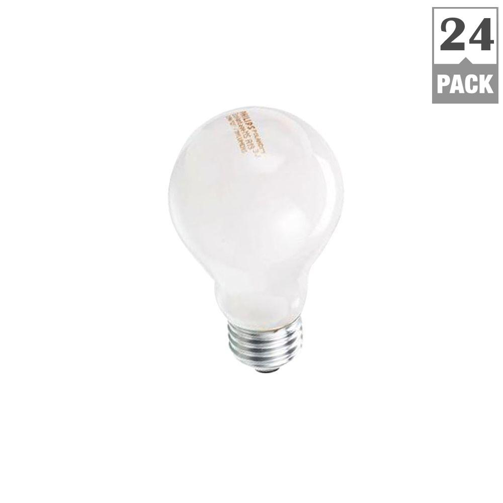 Philips 40-Watt Equivalent A19 Halogen Dimmable Soft White