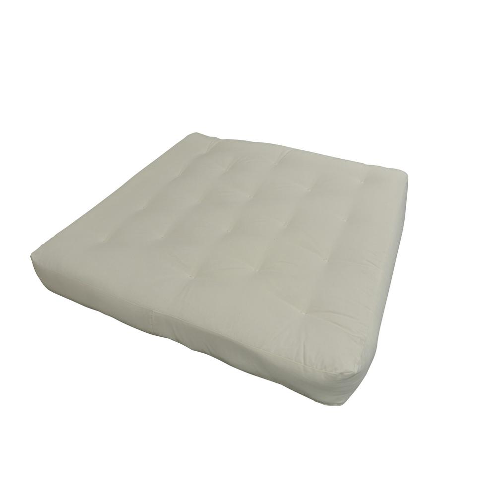 Gold Bond 611 Full 8 In Foam And Cotton Natural Futon Mattress