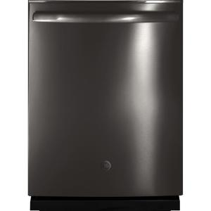 Adora Top Control Dishwasher in Black Stainless Steel with Stainless Steel Tub and Steam Prewash, Fingerprint Resistant