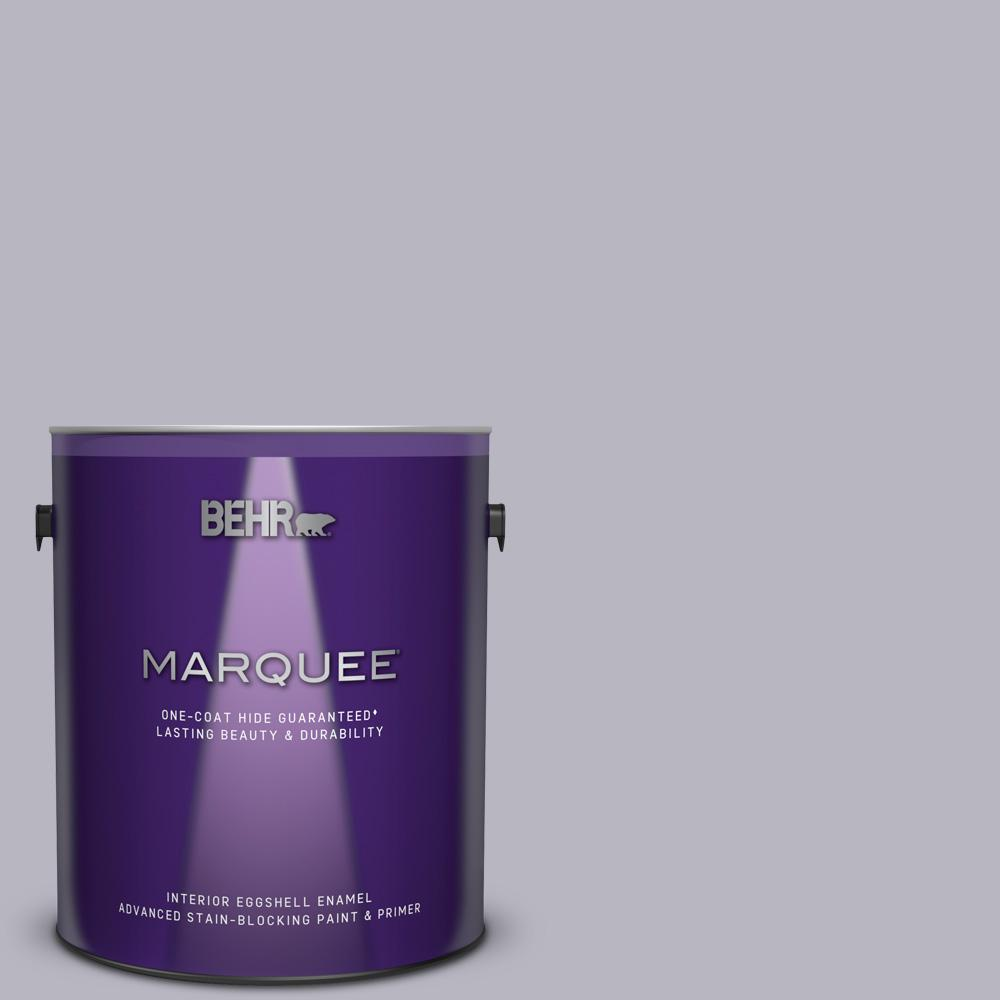 BEHR MARQUEE 1 gal  #N550-3 Best in Show One-Coat Hide Eggshell Enamel  Interior Paint and Primer in One
