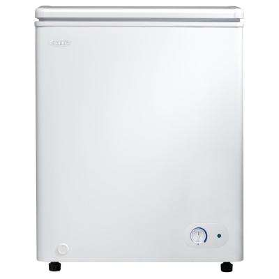 3.8 cu. ft. Chest Freezer in White with 5 Year Warranty