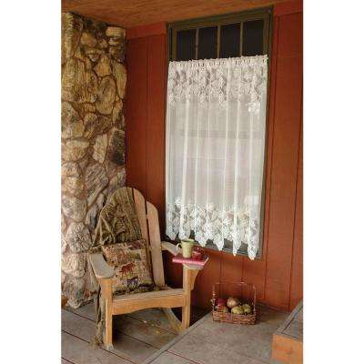 Woodland 84 in. L Polyester Valance in White