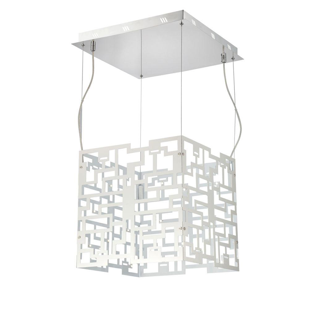 Eurofase Metrix Collection 32-Light Chrome LED Pendant