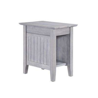 Nantucket Driftwood Grey Chair Side Table