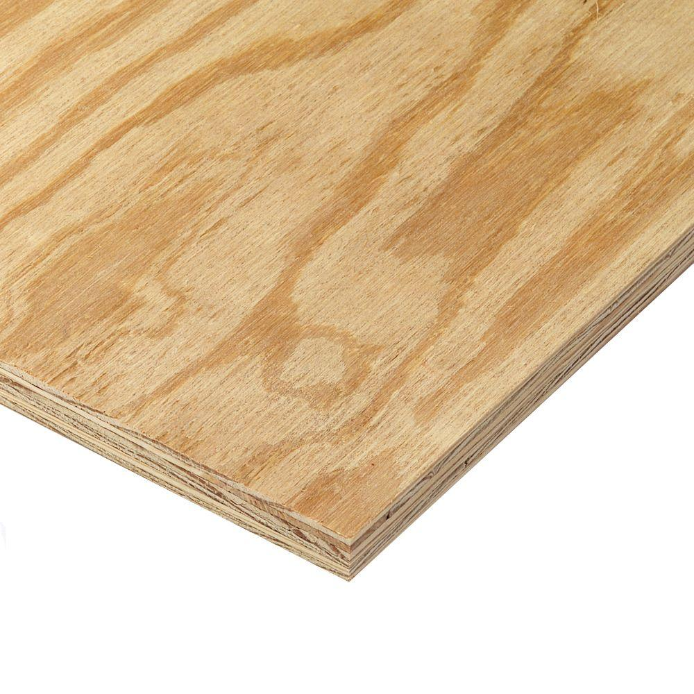 unbranded 19/32 in. x 4 ft. x 8 ft. Rtd Sheathing Syp