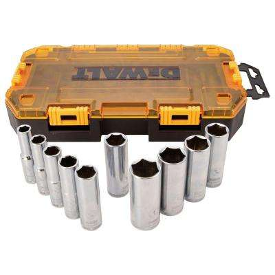 1/2 in. Drive Socket Set (10-Piece)