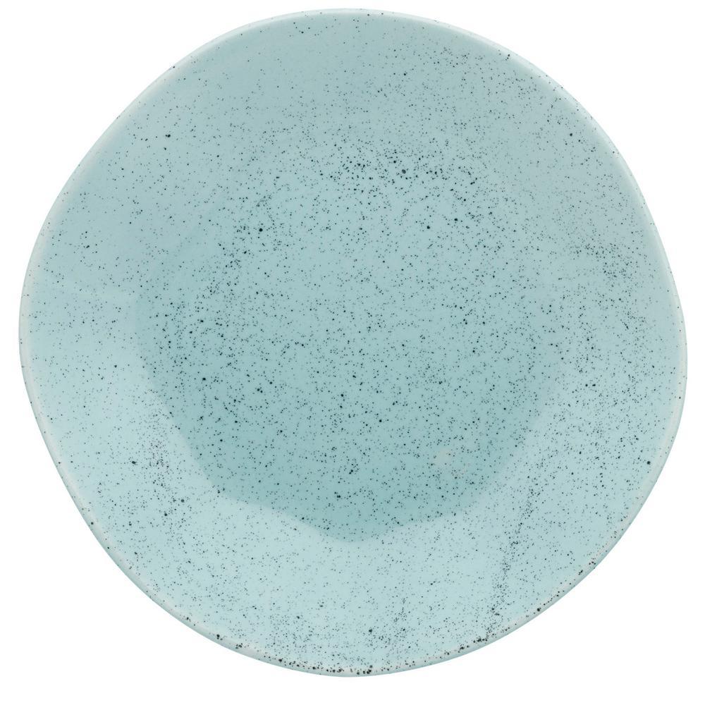 Manhattan Comfort 8.46 in. RYO Light Blue Salad Plates (Set of 6) was $79.99 now $43.09 (46.0% off)