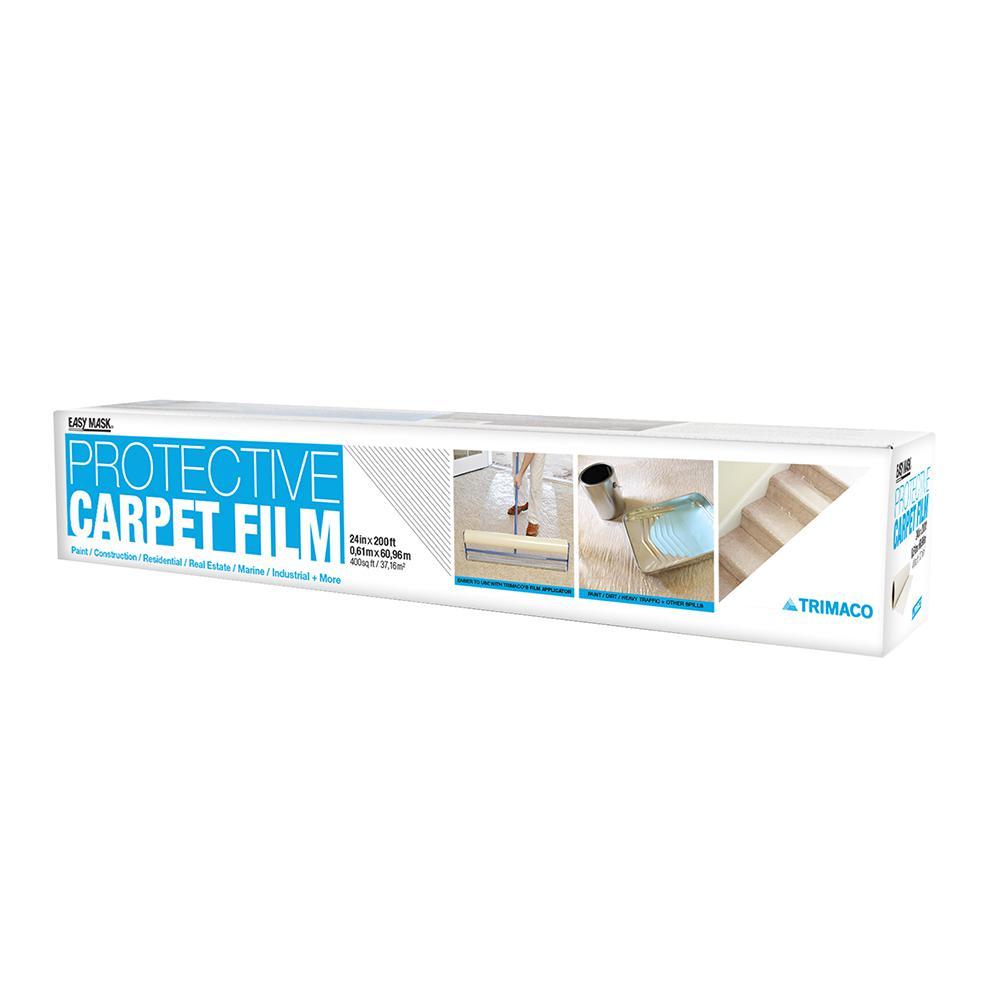 Trimaco 24 in. x 200 ft. 2-mil Carpet Protection Film