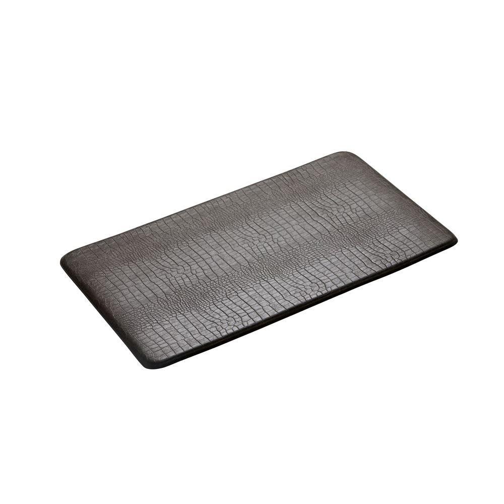 IMPRINT Comfort Mat Croco Stone 20 in. x 36 in. Anti Fatigue Comfort Mat-DISCONTINUED