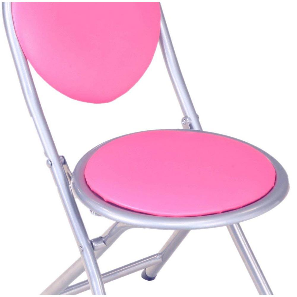 Fine Homecraft Furniture Pink Folding Kids Chair Plk4007 The Caraccident5 Cool Chair Designs And Ideas Caraccident5Info