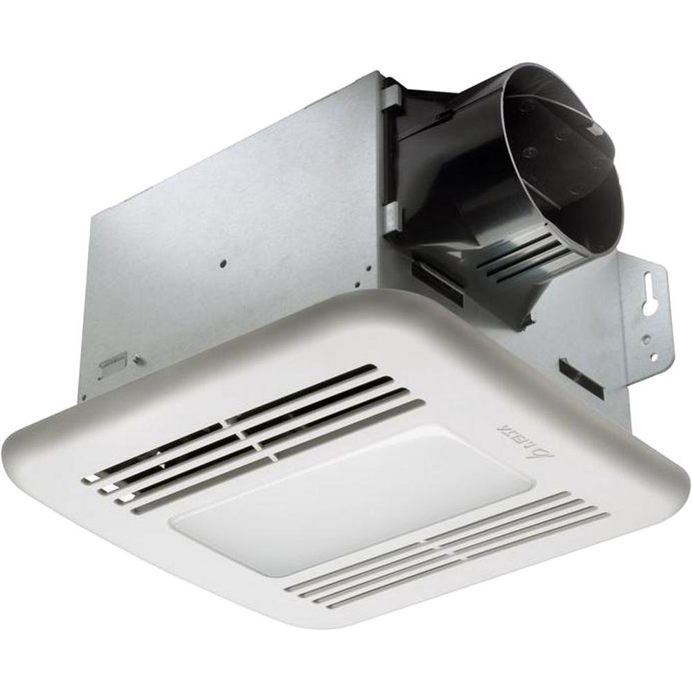 Delta Breez GreenBuilder Series 80 CFM Ceiling Exhaust Bath Fan with LED Light