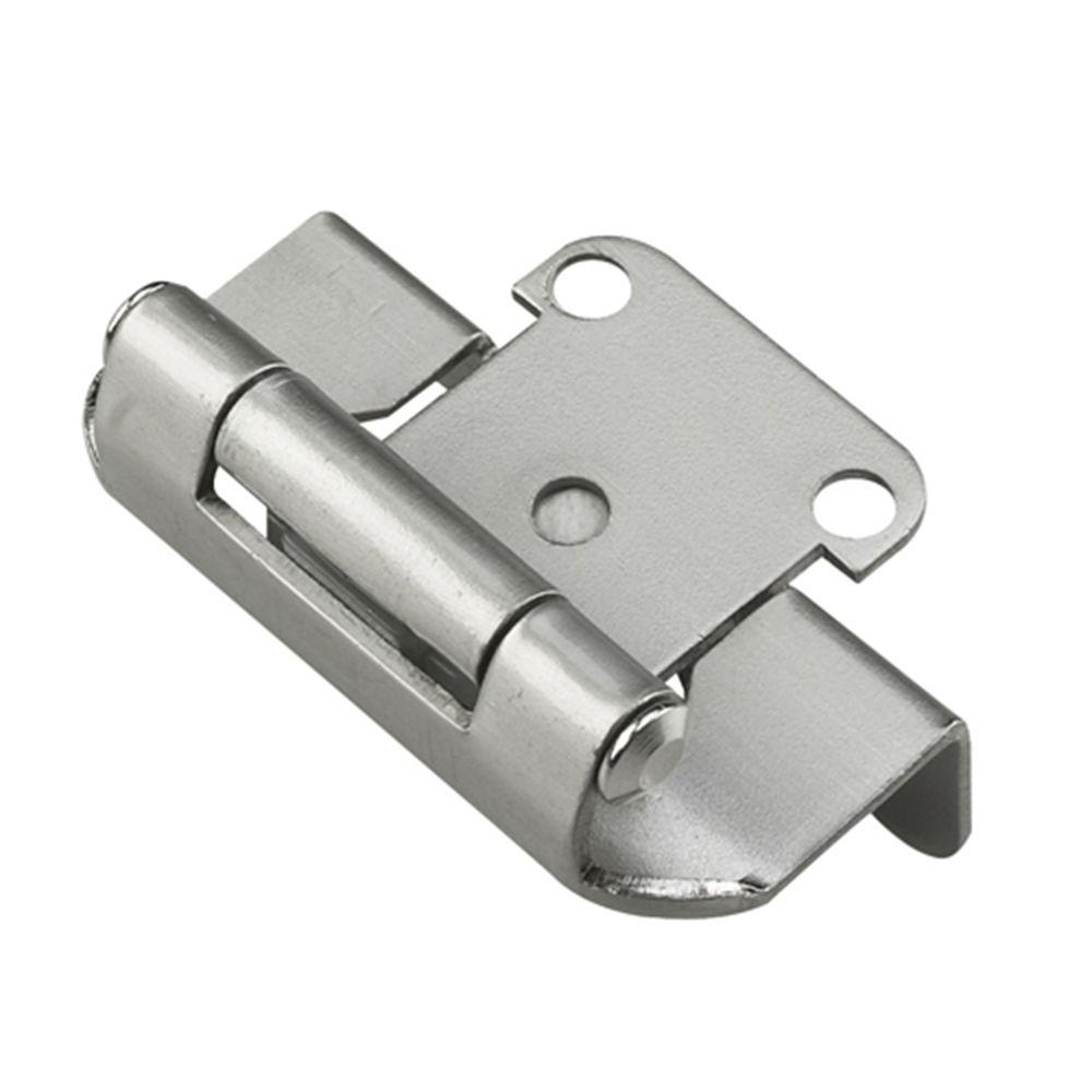 Delicieux Richelieu Hardware Traditional Wrap Around 1/2 In. Overlay Satin Nickel  Self