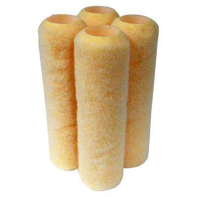 9 in. x 3/8 in. All Paints Roller Covers (4-Pack)