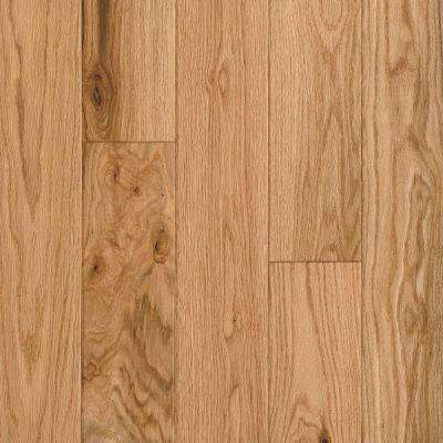 Take Home Sample - American Vintage Natural Red Oak Engineered Scraped Hardwood Flooring - 5 in. x 7 in.