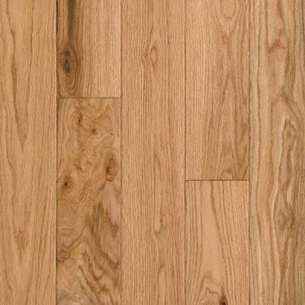 Bruce Take Home Sample American Vintage Natural Red Oak Engineered Sed Hardwood Flooring 5