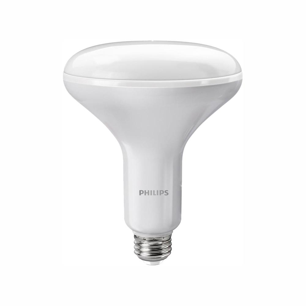 Philips 65-Watt Equivalent BR40 Dimmable LED Soft White with Warm Glow Light Effect (E)*