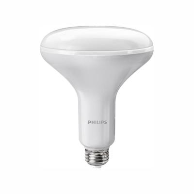 65-Watt Equivalent BR40 Dimmable LED Light Bulb Soft White with Warm Glow Dimming Effect (1-Bulb)