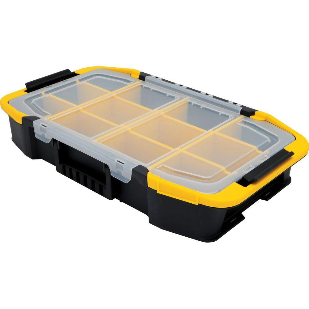 Stanley Click 'N Connect 12-Compartment Small Parts Organizer