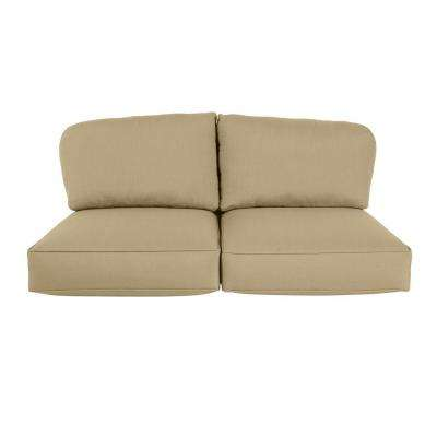 Northshore Replacement Outdoor Loveseat Cushion In Meadow