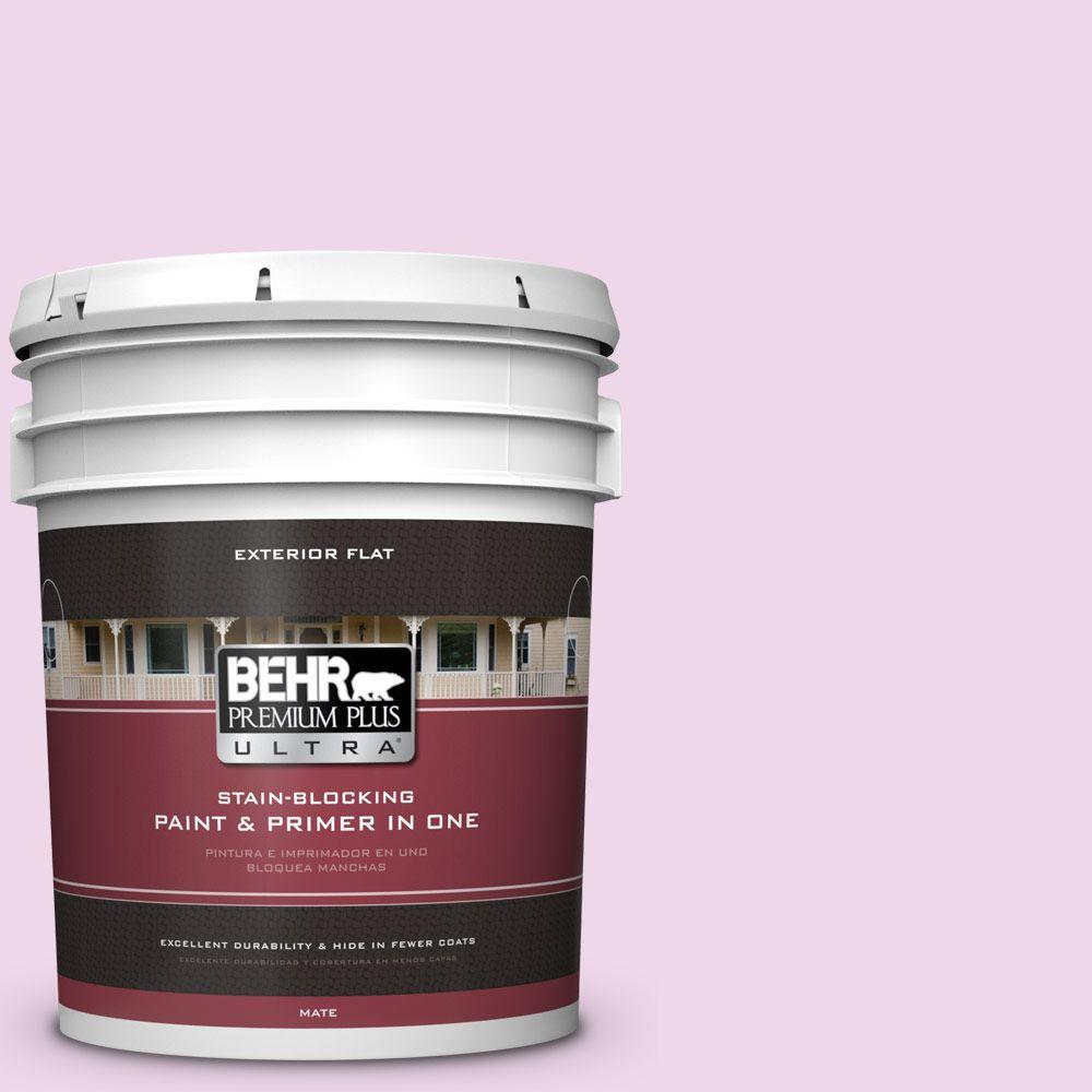 BEHR Premium Plus Ultra 5-gal. #P110-1 All Made Up Flat Exterior Paint