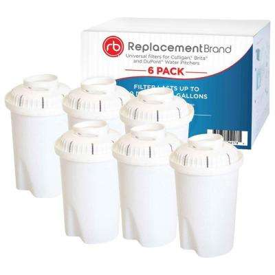 FL402H Comparable Water Pitcher Filter (6-Pack)