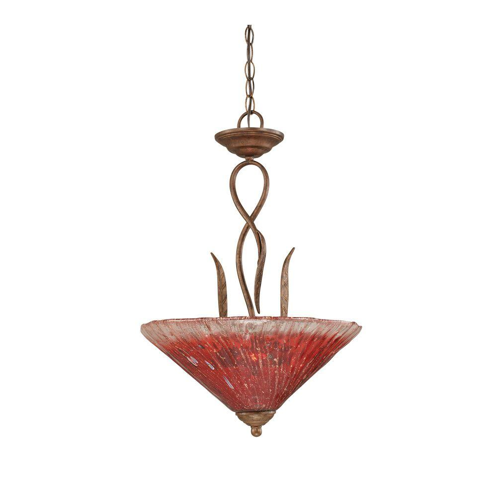 Filament Design Concord 3-Light Bronze Pendant