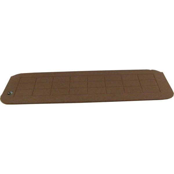 1.25 in. H x 42 in. W Terra Cotta Recycled Polymer Threshold Wheelchair Ramp